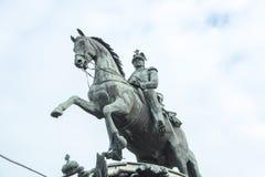 Monumento Nicolás I, St Petersburg Fotografía de archivo libre de regalías