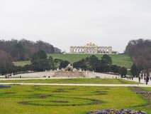 Monumento no palácio de Schunbrunn em Áustria Fotografia de Stock Royalty Free