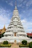 Monumento no palácio grande, Cambodia Fotografia de Stock