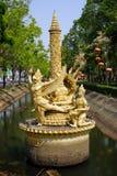 Monumento no parque Fotos de Stock Royalty Free