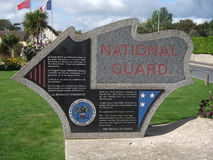 Monumento Normandy do sargento Peregory National Guard Imagem de Stock