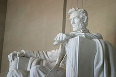 Monumento o monumento de Lincoln Imagen de archivo libre de regalías