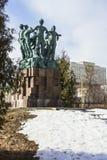 Monumento in onore del cinquantesimo anniversario delle brigate della costruzione dello studente Fotografia Stock