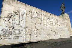Monumento Pamiątkowy Che Guevara, Kuba fotografia stock