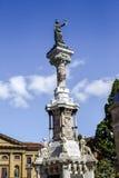 Monumento, Pamplona & x28 di Los Fueros; Spain& x29; fotografia stock libera da diritti