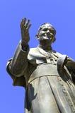 Monumento a papa Juan Pablo II Fotos de archivo libres de regalías