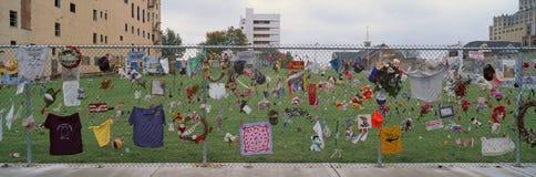 Monumento para el bombardeo 1995 del Oklahoma City Foto de archivo