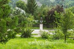 Monumento para formar a Alexandru Averescu en Campina Imagenes de archivo