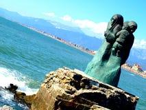 Monumento para o marinheiro imagens de stock royalty free