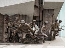 Monumento para pulir la sublevación de los combatientes Imagen de archivo libre de regalías