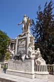 Monumento para Wolfgang Amadeus Mozart. Viena, Austria Imagen de archivo libre de regalías