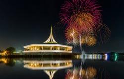 Monumento in parco pubblico della Tailandia immagini stock