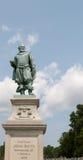 Monumento per capitanare John Smith in Jamestown, VA Fotografie Stock