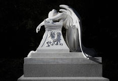 Monumento per Henry Lathrop, fratello a Jane Lathrop Stanford Immagini Stock