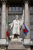 Monumento per il sardo contro l'esercito di Milano Immagini Stock