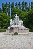 Monumento per Sandor Petofi a Bratislava, Slovacchia Fotografia Stock Libera da Diritti