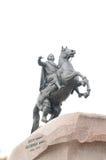 Monumento a Peter 1 en el área senatorial Imagenes de archivo