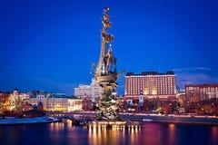 Monumento a Peter el grande Imágenes de archivo libres de regalías