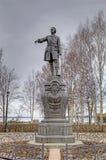 Monumento a Peter el grande Fotos de archivo