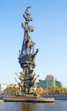 Monumento a Peter el grande fotografía de archivo