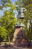 Monumento a Peter I in Kronštadt Fotografie Stock Libere da Diritti