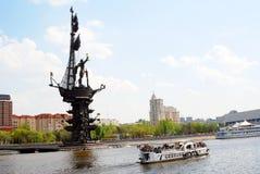 Monumento a Peter le grande Fotografia Stock Libera da Diritti