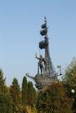 Monumento a Peter mim em Moscovo Foto de Stock Royalty Free