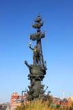 Monumento a Peter o grande em Moscovo, Rússia Foto de Stock