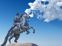 Monumento Peter o primeiro Imagem de Stock