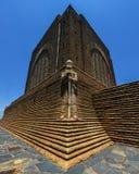 Monumento a Piet Retief en el monumento de Voortrekker Imagenes de archivo