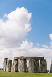 Monumento pré-histórico de Stonehenge perto de Salisbúria, Wiltshire, Engla imagens de stock royalty free