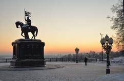 Monumento a príncipe Vladimir Foto de archivo libre de regalías