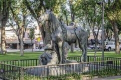 Monumento Prescott Arizona del cowboy a riposo Fotografia Stock