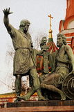 Monumento a principe Pozharsky fotografia stock libera da diritti