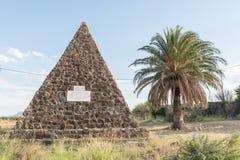 Monumento que comemora a formação da união de África do Sul Fotos de Stock Royalty Free