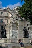 Monumento real de la artillería de Londres Imágenes de archivo libres de regalías