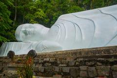 Monumento religioso al Buddha Fotografia Stock Libera da Diritti