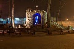 Monumento religioso in Sosnowiec Fotografia Stock Libera da Diritti