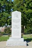 Monumento revolucionario de la guerra de Iowa Fotografía de archivo libre de regalías