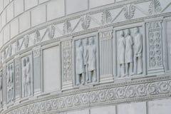 Monumento romano in Adamclisi fotografia stock