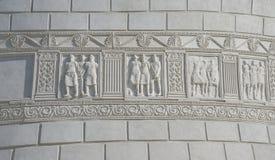 Monumento romano in Adamclisi, Romania fotografia stock