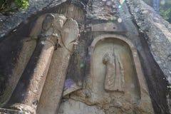 Monumento romano antiguo, que está situado en Amasra, Turquía, imagen de archivo libre de regalías