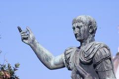 Monumento romano do imperador Foto de Stock Royalty Free