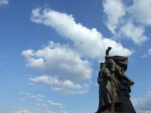 Monumento rumano de los héroes Fotos de archivo libres de regalías