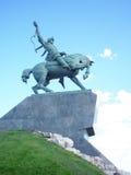 Monumento Salavat Ulaev da Ufa-cidade em Rússia Imagem de Stock