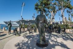 Monumento San Diego de Bob Hope Imagen de archivo