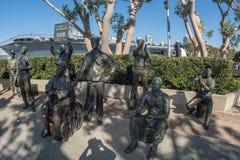 Monumento San Diego de Bob Hope Fotografía de archivo