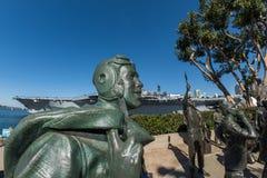 Monumento San Diego de Bob Hope Fotos de archivo