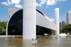 Monumento Sao Paulo de América latina imagenes de archivo