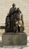 Monumento seguro de la llegada en Hartford Connecticut Foto de archivo libre de regalías